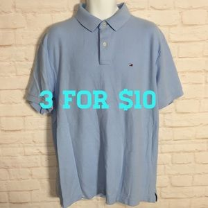 Tommy Hilfiger sky blue polo shirt XXL